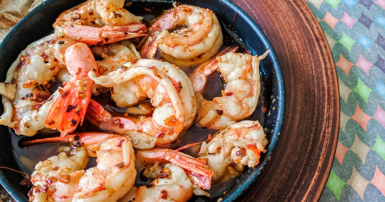 Gambas Al Ajillo (Spanish Garlic Shrimp)