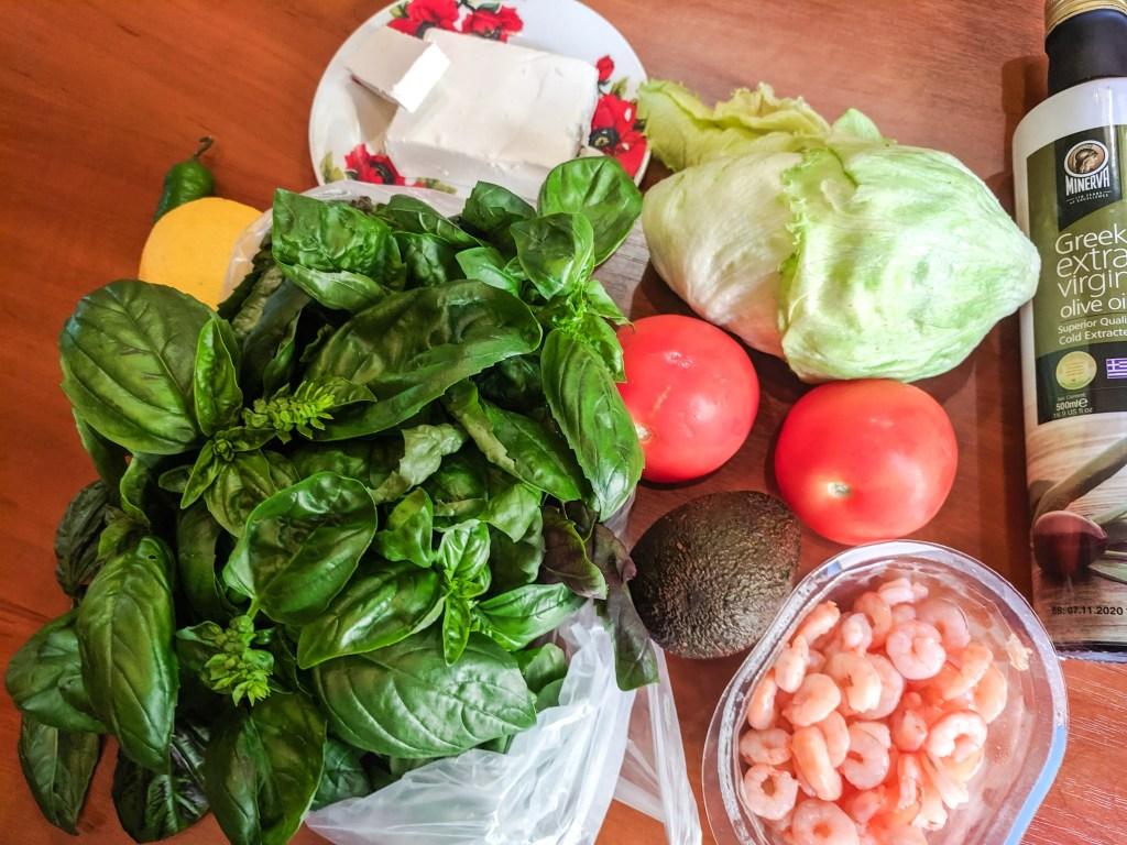 Jardine Salad Ingredients