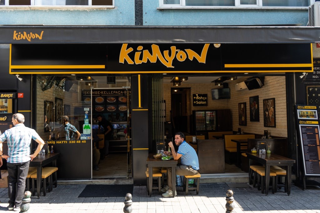 Kimyon Kellepaca restaurant in Istanbul