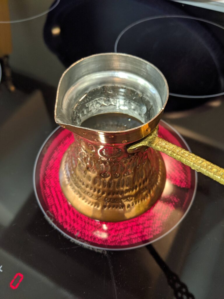 Dzezva for Bosnian Coffee