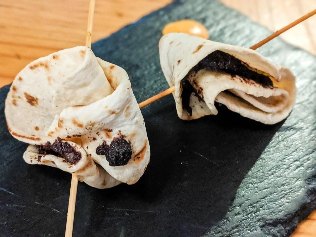 GRANADA'S BEST TAPAS: Morcilla in Tortilla from EntreBrasas