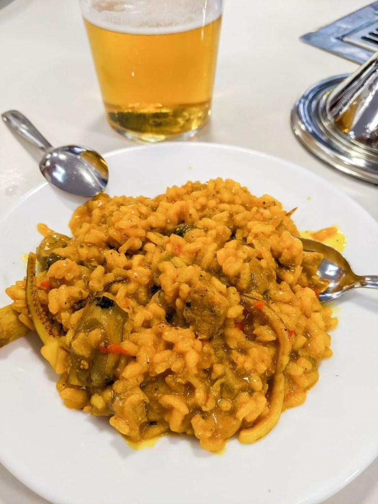 GRANADA'S BEST TAPAS: Paella from Los Diamantes