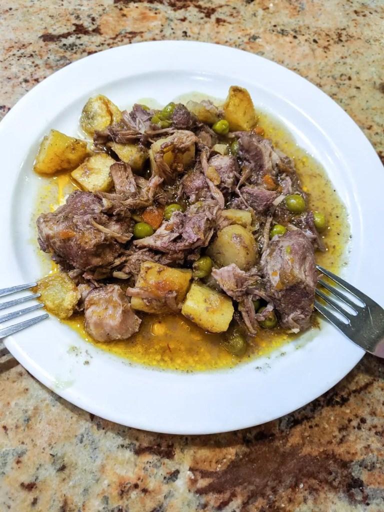 Pork Stew with Potatoes from El Fogon de Galicia
