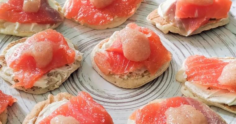 Salmon Caviar Blini