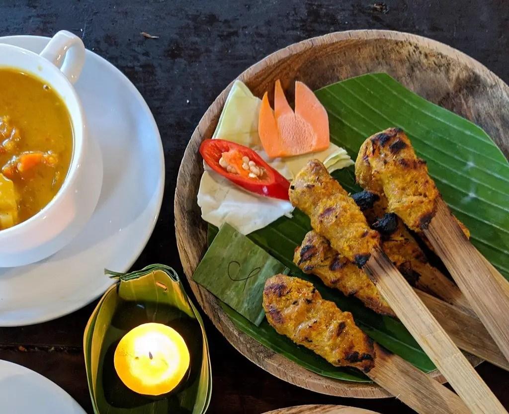 Bali Sate Lilit