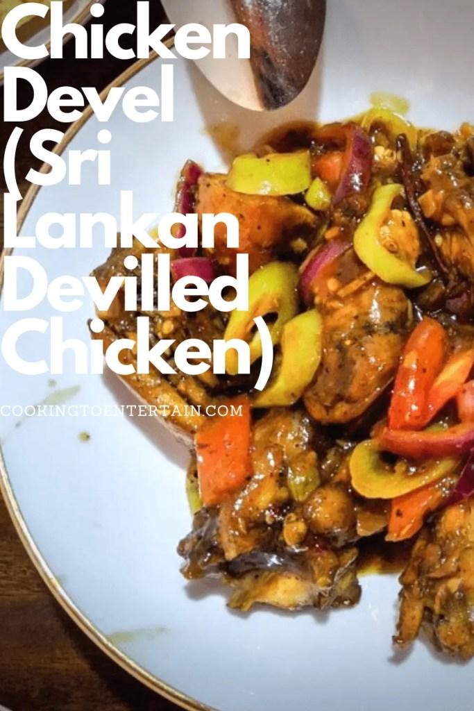 Sri Lankan Chicken Devel Pin