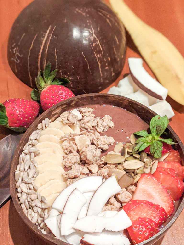 chocolate banana smoothie bowl recipe profile picture