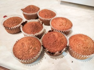 Earl Grey Cupcakes Baked