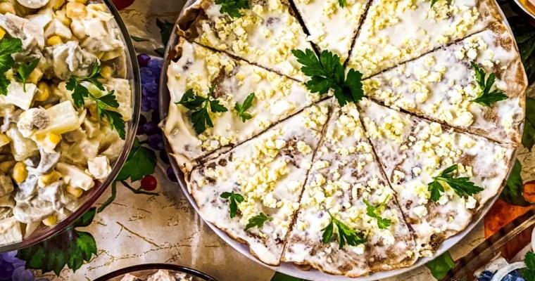 Ukrainian Liver Cake (Печінковий торт) Recipe