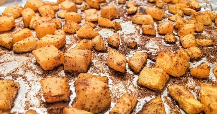 Roasted Cinnamon Butternut Squash