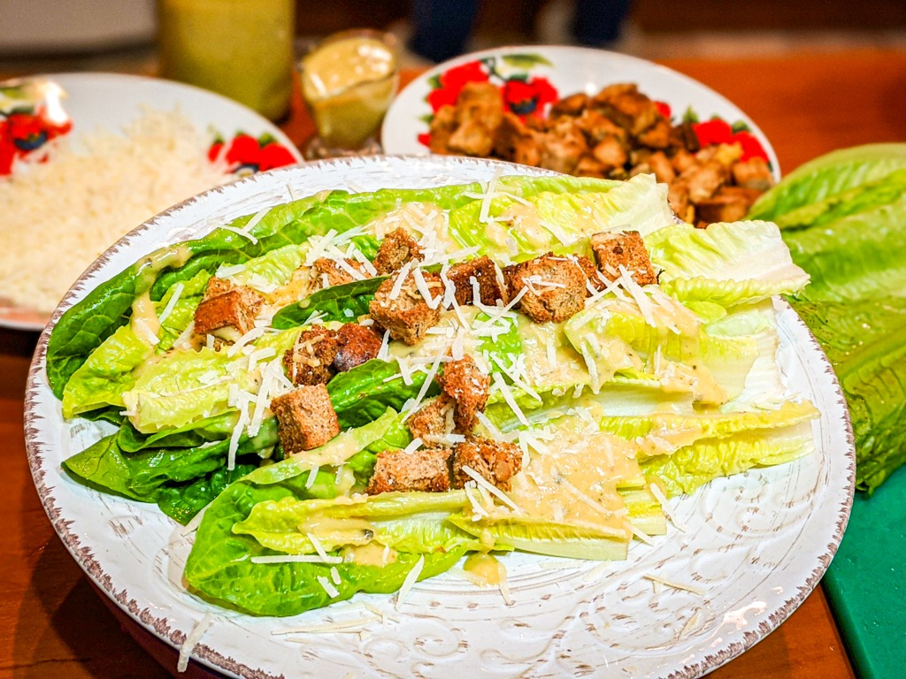 The best steakhouse caesar salad recipe picture