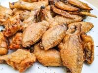 baking powder method chicken wings for extra crispy chicken skin
