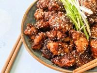 sweet spicy sesame chicken