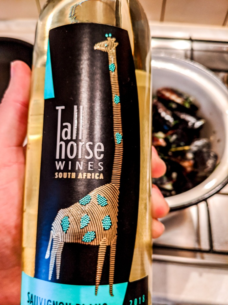 Tall Horse Wines from South Africa. Sauvignon Blanc