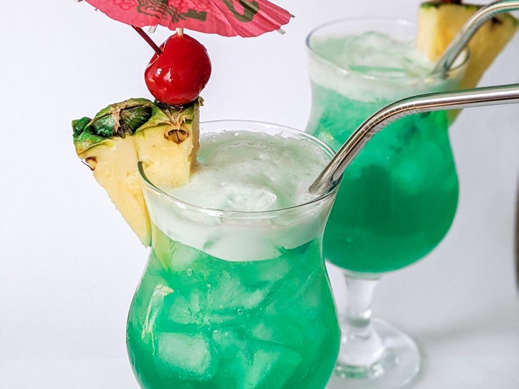 blue hawaii traditional recipe