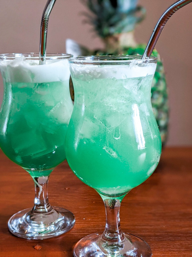 Classic Blue Hawaii without garnish