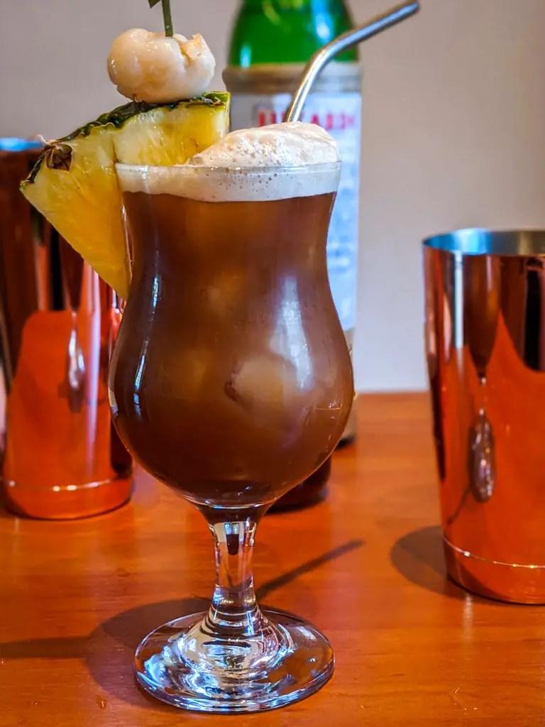 Louverture tiki cocktail