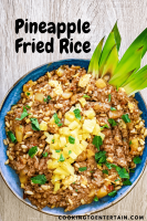 thai pineapple fried rice pin