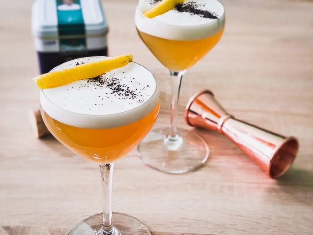 The Treaty of Paris original cocktail recipe