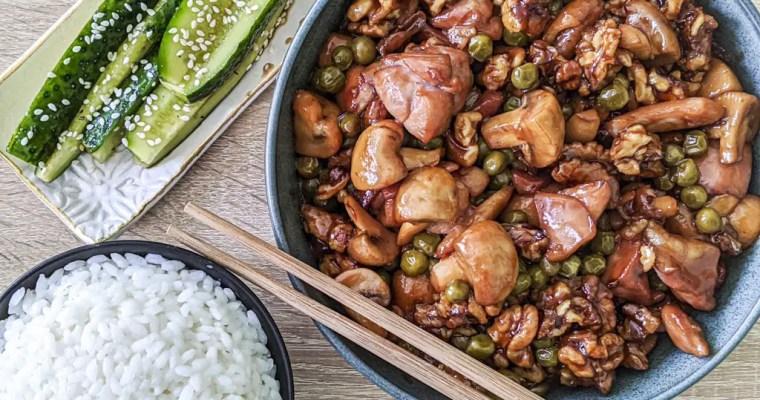 Chinese Walnut Chicken
