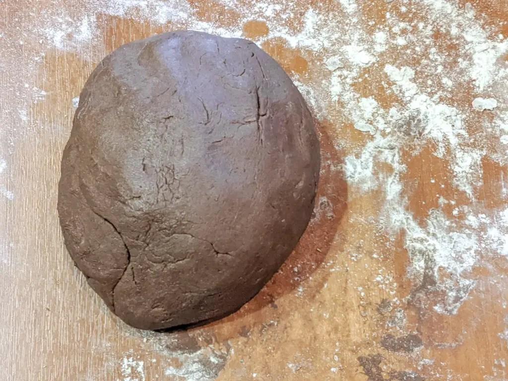 coffee bean cookie dough