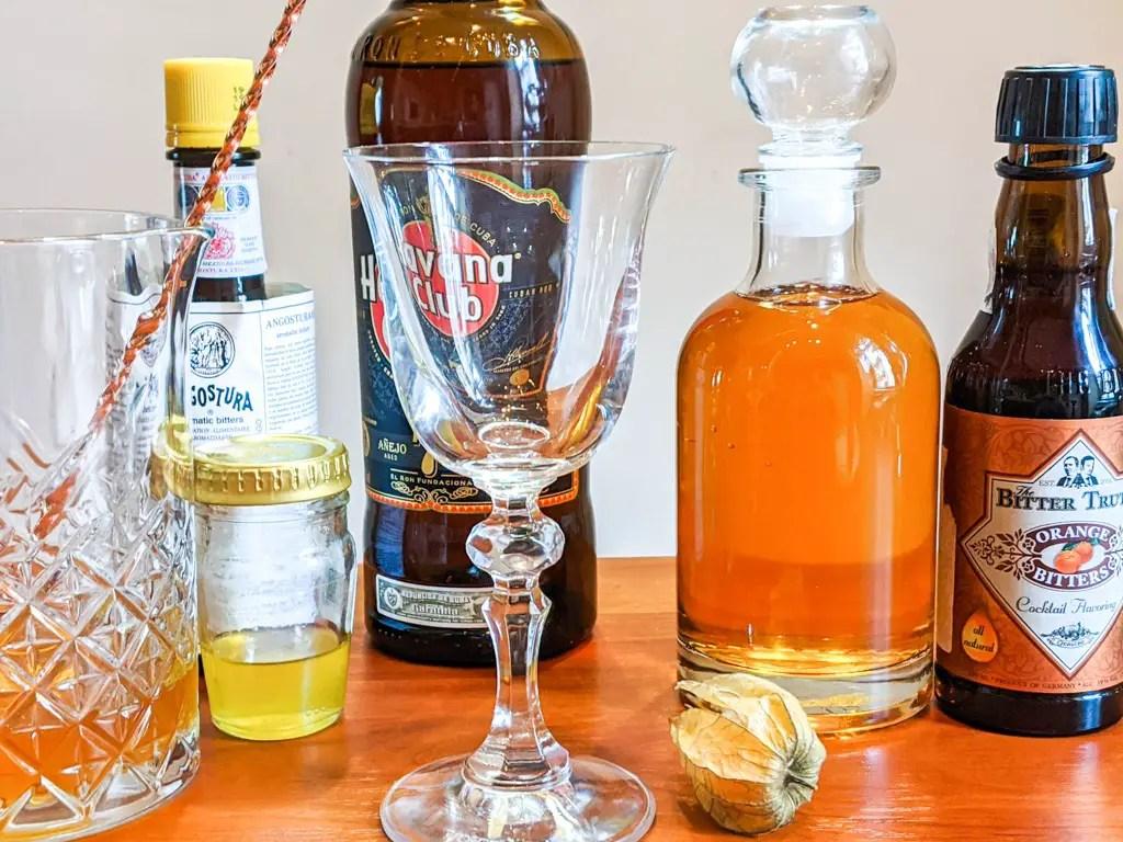 hanging lantern cocktail ingredients
