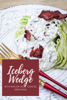 iceberg wedge bacon salad