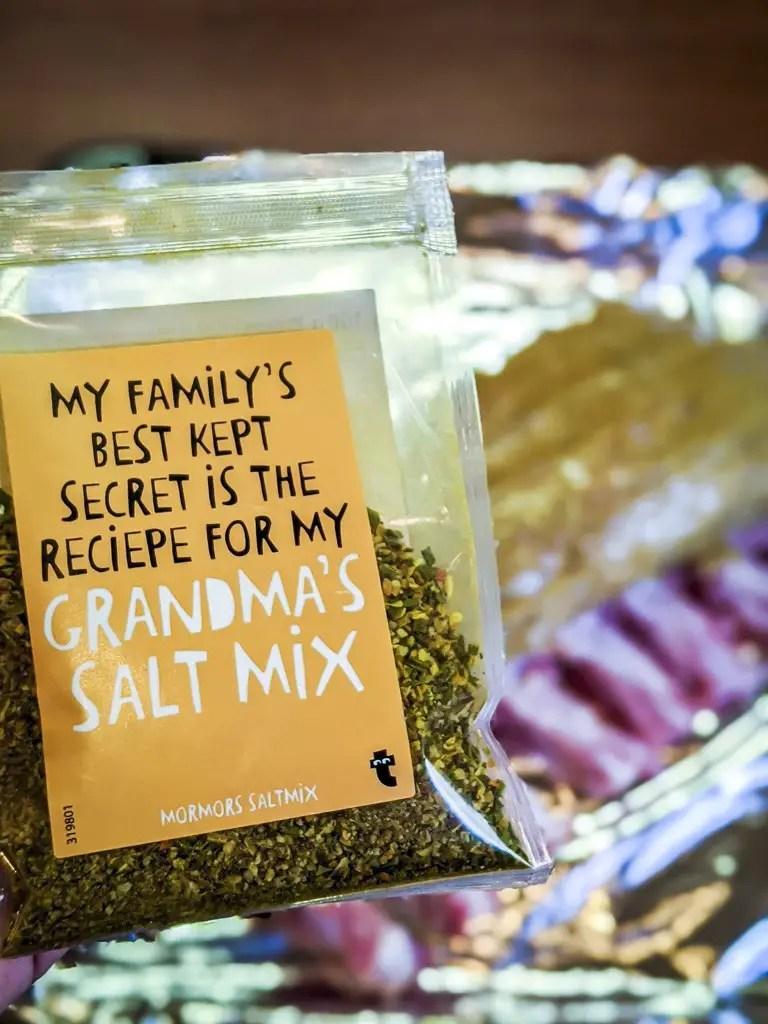 grandma's salt mix bag
