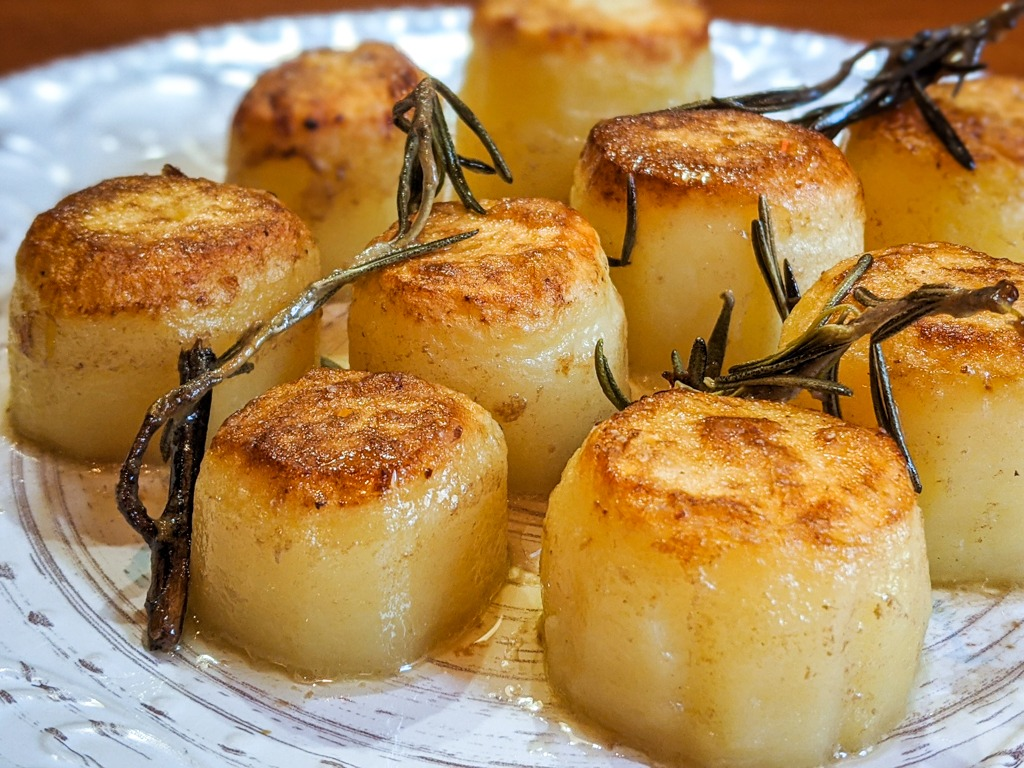 easy and perfect fondant potatoes