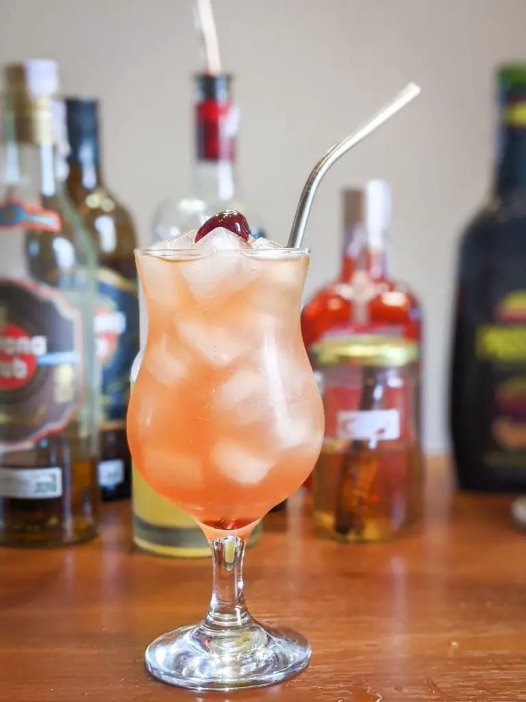 Hurricane Cody in a poco grande glass