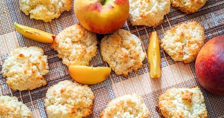 Peach Coconut Macaroons