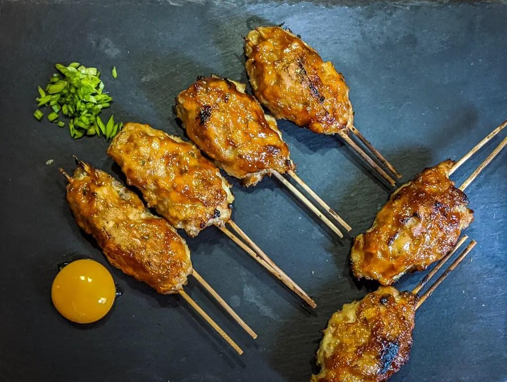 Tsukune (Japanese Chicken Meatballs) | つくね