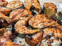 spicy chili mackerel steaks