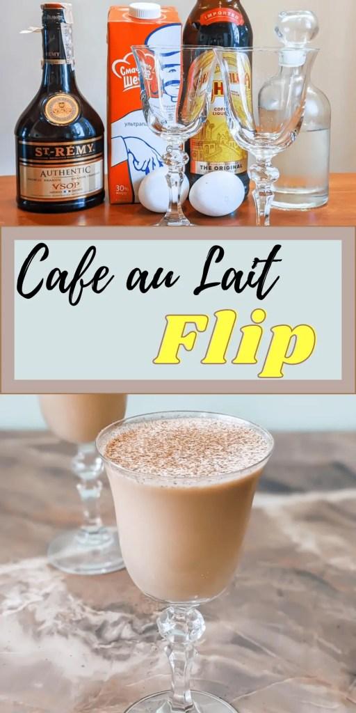 Cafe au Lait Flip Pin