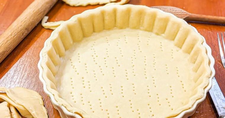 Pate Brisee (Savory Tart Crust)