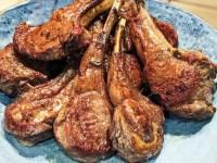 georgian lamb chops seared with khmeli suneli