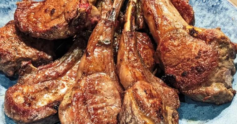 Georgian Grilled Lamb Chops