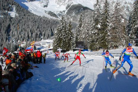 Biathlon world cup in Antholz Anterselva ITALY