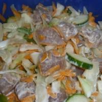 Raw Tuna Fish Salad, French Polynesia.