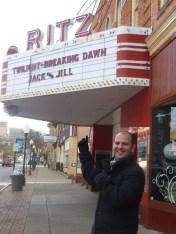 Jerome Halimi - The Ritz movie theater in Clearfield PA