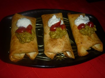 Chimichanga from Arizona by cookingtrips on WordPress