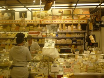 Cheese Section, Zabar's, NYC - photo by Sophie Rebibo Halimi