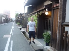 In the streets of Takayama
