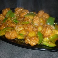 Chinese Sweet and Sour Crispy Chicken