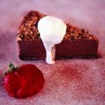 Frozen mocha cheesecake