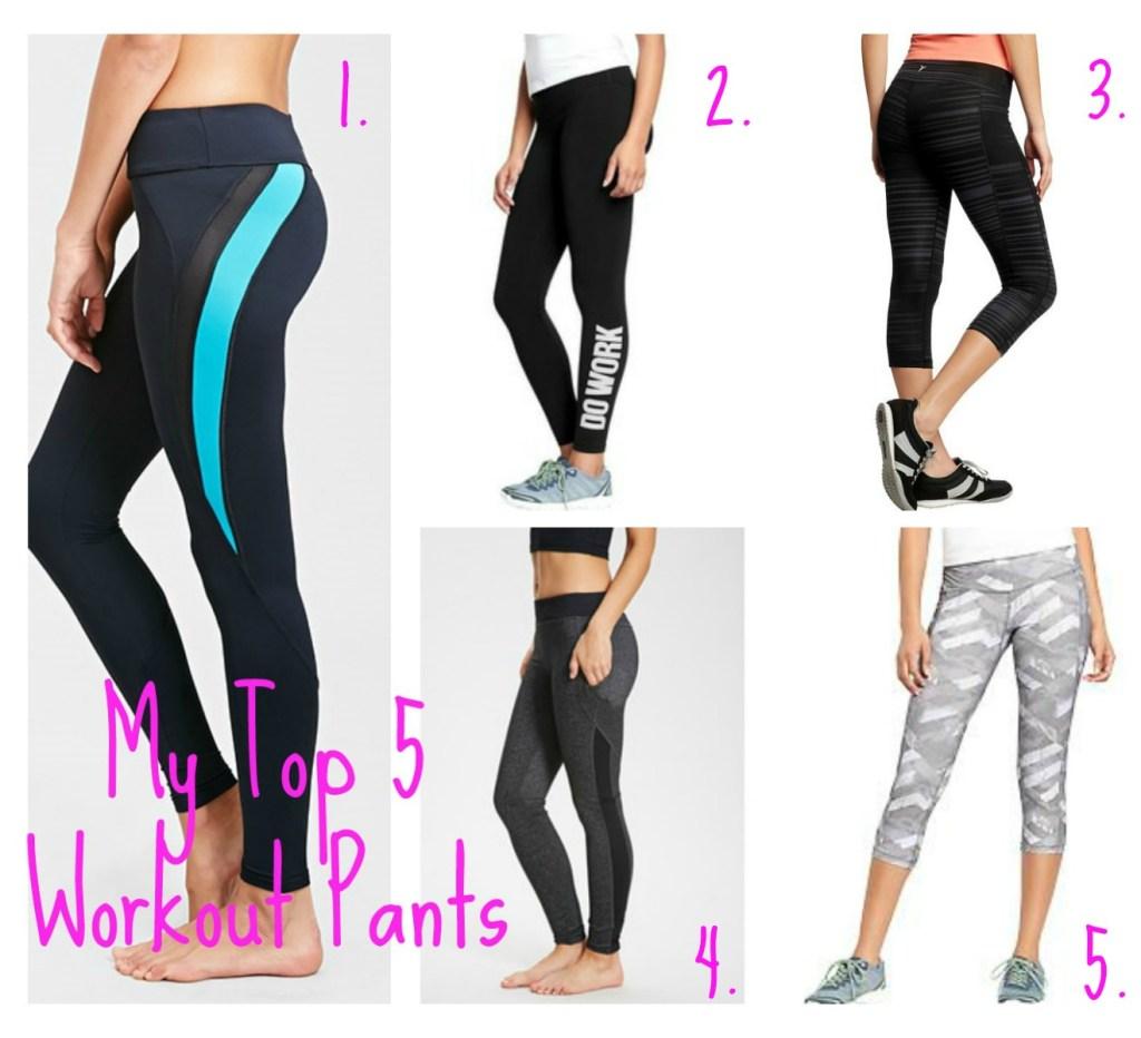 Top 5 Workout Pants