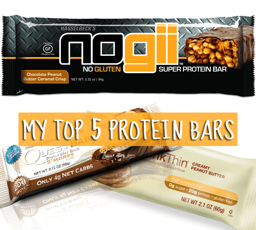 My Top 5 Protein Bars