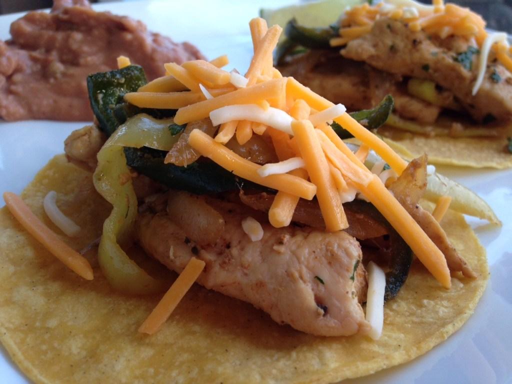 Fiesta Fajitas - healthy fajita recipe
