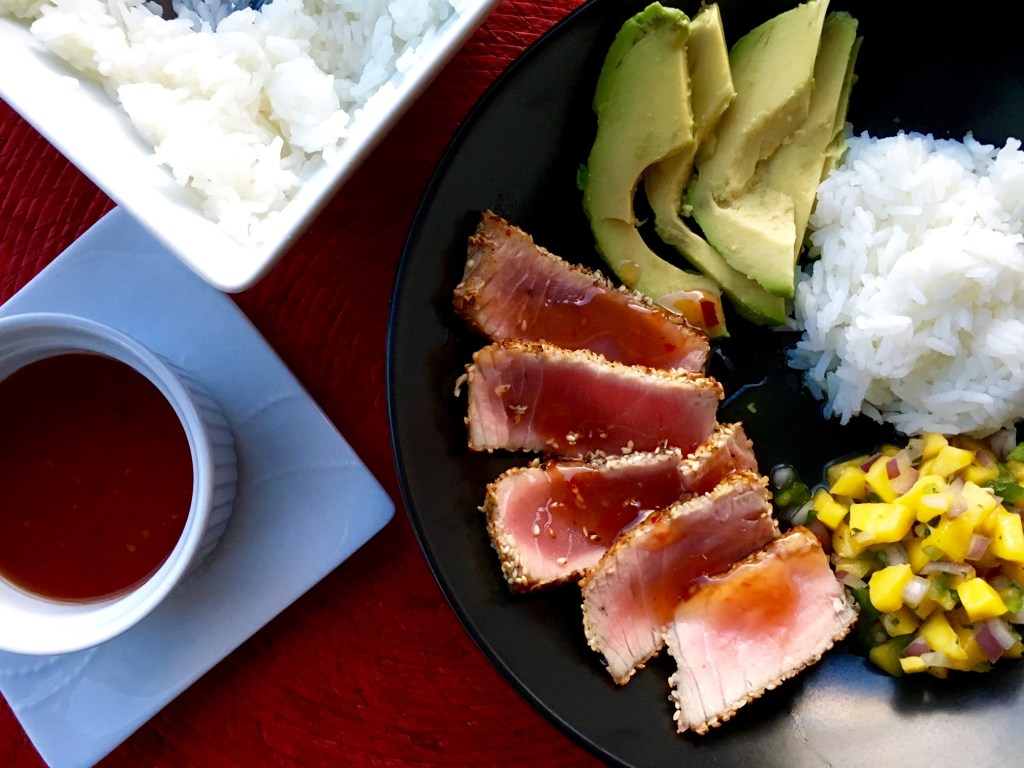 Sesame Crusted Seared Tuna
