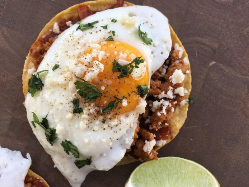 Healthy Huevos Rancheros - Cooking Up Happiness